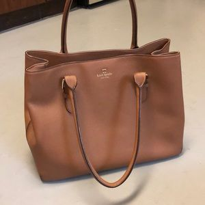 100% Leather Kate Spade Large Tote